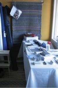 Lottalan myyntipöytä